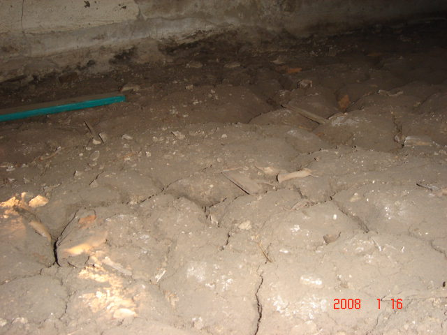 Foundation flooding