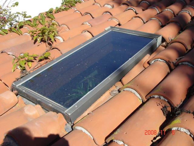 Improper skylight, to low